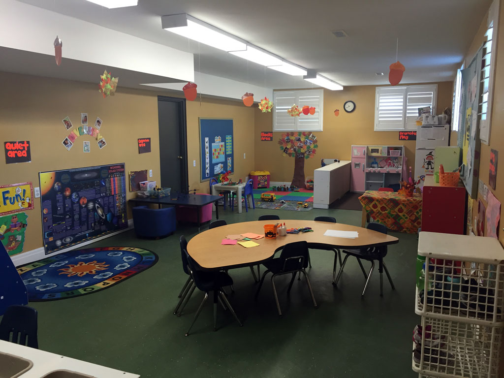 Inside of Little Hands facility